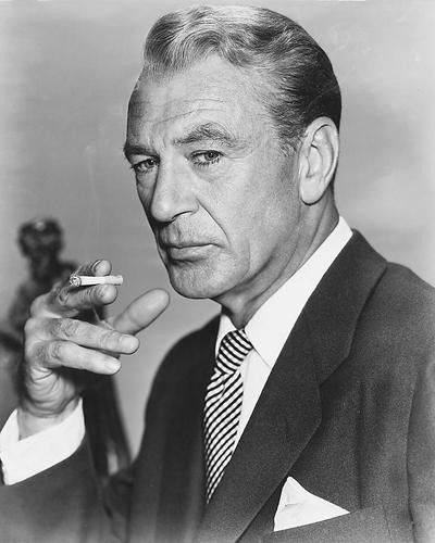 This is an image of 171847 Gary Cooper Photograph & Poster