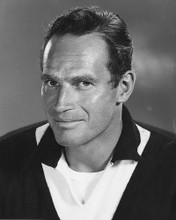This is an image of 171985 Charlton Heston Photograph & Poster
