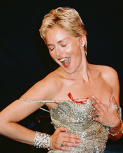 This is an image of 236493 Sharon Stone Photograph & Poster