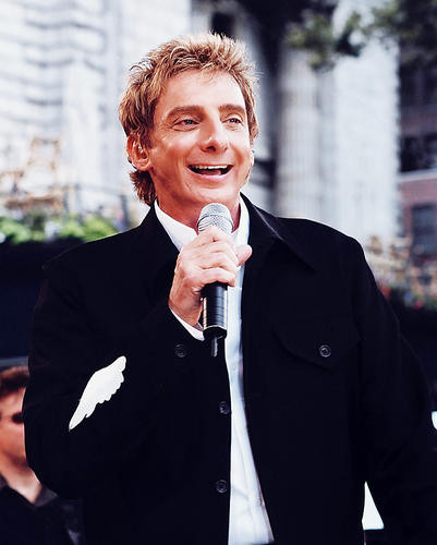 This is an image of 253321 Barry Manilow Photograph & Poster