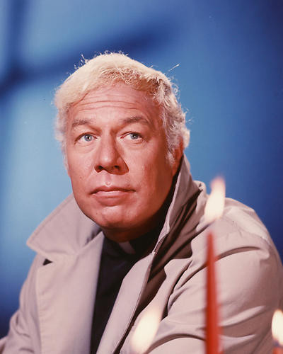 This is an image of 254114 George Kennedy Photograph & Poster