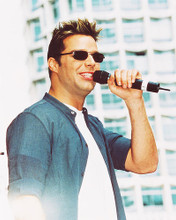 This is an image of 238059 Ricky Martin Photograph & Poster