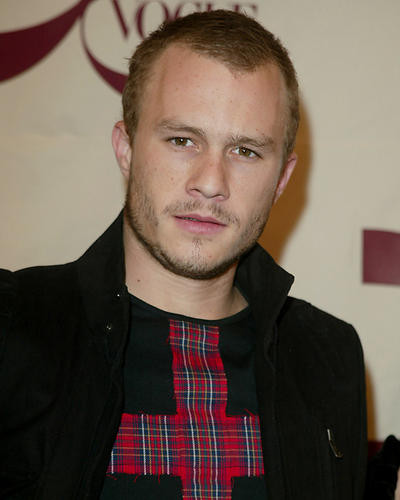 This is an image of 254542 Heath Ledger Photograph & Poster