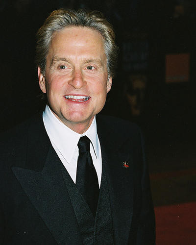 This is an image of 254965 Michael Douglas Photograph & Poster