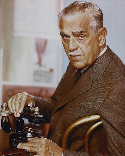 This is an image of 255324 Boris Karloff Photograph & Poster