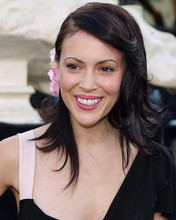 This is an image of 255376 Alyssa Milano Photograph & Poster