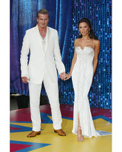 This is an image of 255499 Victoria Beckham & David Beckham Photograph & Poster
