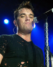 This is an image of 255576 Robbie Williams Photograph & Poster