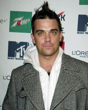 This is an image of 255593 Robbie Williams Photograph & Poster