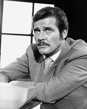 This is an image of 172778 Roger Moore Photograph & Poster