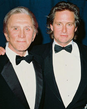 This is an image of 240737 Michael Douglas & Kirk Douglas Photograph & Poster
