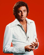 This is an image of 242624 Barry Manilow Photograph & Poster