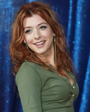 This is an image of 255694 Alyson Hannigan Photograph & Poster