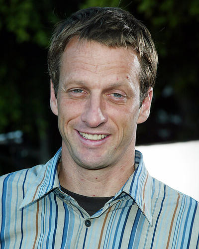 This is an image of 255938 Tony Hawk Photograph & Poster