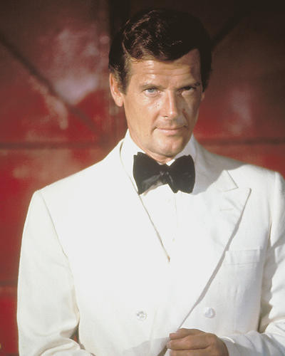 This is an image of 256009 Roger Moore Photograph & Poster