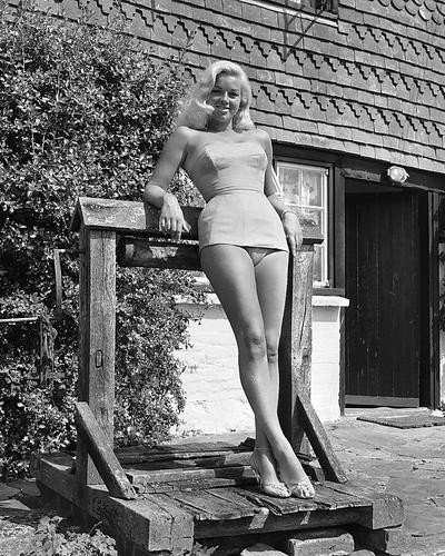 This is an image of 173136 Diana Dors Photograph & Poster
