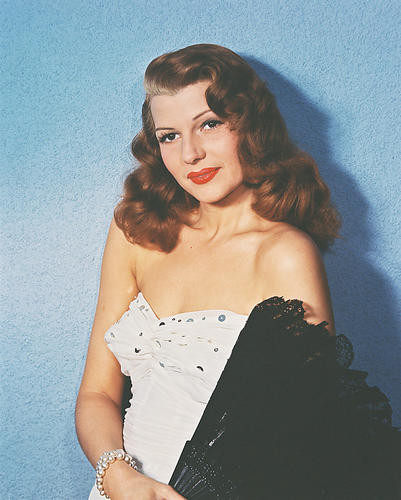 This is an image of 243367 Rita Hayworth Photograph & Poster