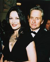 This is an image of 245182 Michael Douglas & Catherine Zeta-Jones Photograph & Poster