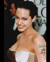 This is an image of 245890 Angelina Jolie Photograph & Poster