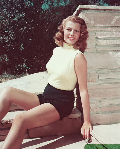 This is an image of 246061 Rita Hayworth Photograph & Poster