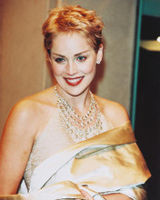 This is an image of 246209 Sharon Stone Photograph & Poster
