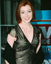 This is an image of 246452 Alyson Hannigan Photograph & Poster