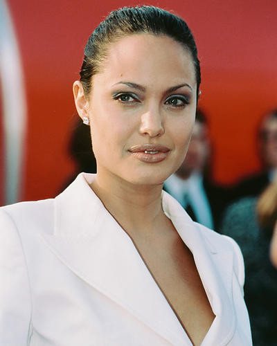 This is an image of 246475 Angelina Jolie Photograph & Poster