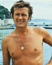 This is an image of 258295 Roger Moore Photograph & Poster