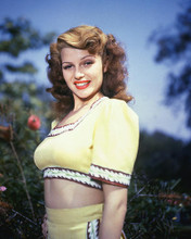 This is an image of 258579 Rita Hayworth Photograph & Poster