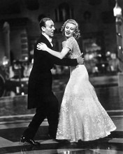 This is an image of 174219 Fred Astaire & Ginger Rogers Photograph & Poster