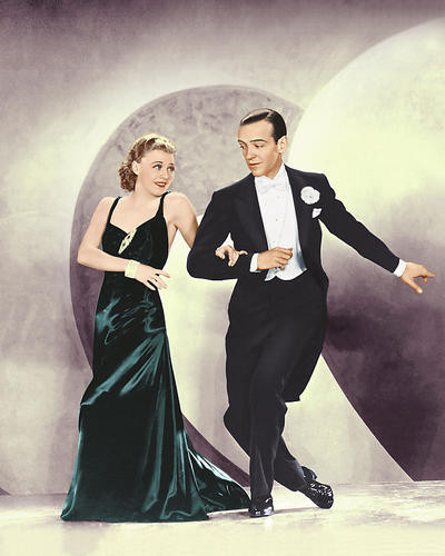 This is an image of 262091 Fred Astaire & Ginger Rogers Photograph & Poster