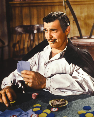 This is an image of 262190 Clark Gable Photograph & Poster