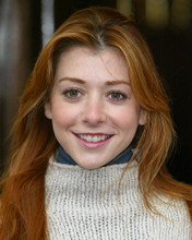 This is an image of 257887 Alyson Hannigan Photograph & Poster