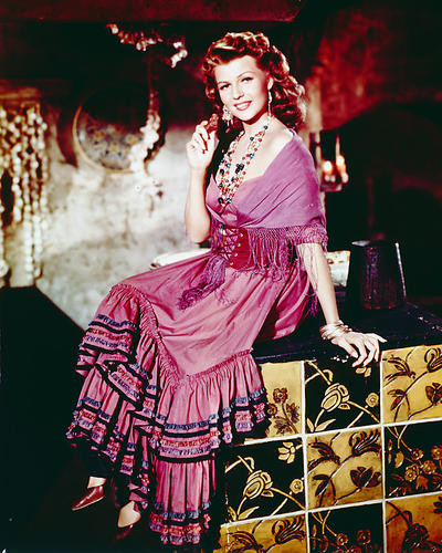 This is an image of 262774 Rita Hayworth Photograph & Poster