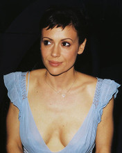This is an image of 252850 Alyssa Milano Photograph & Poster