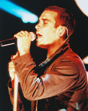 This is an image of 252946 Robbie Williams Photograph & Poster