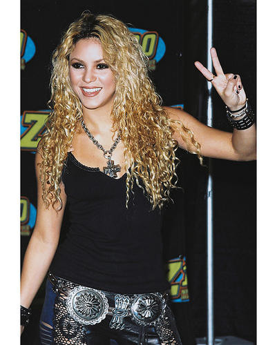 This is an image of 253143 Shakira Photograph & Poster
