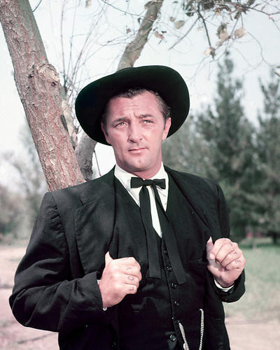 This is an image of 258655 Robert Mitchum Photograph & Poster