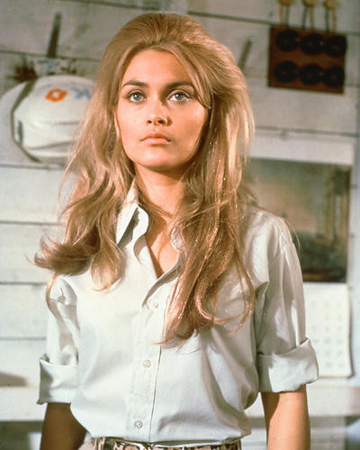 This is an image of 261096 Alexandra Bastedo Photograph & Poster