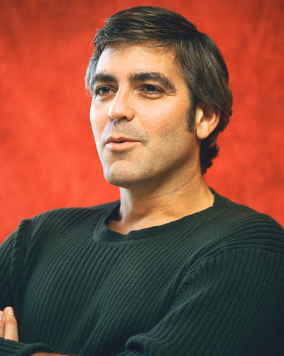 This is an image of 261139 George Clooney Photograph & Poster