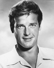 This is an image of 175513 Roger Moore Photograph & Poster