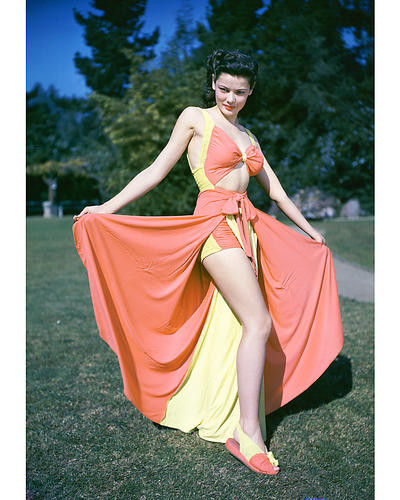 This is an image of 264150 Gene Tierney Photograph & Poster