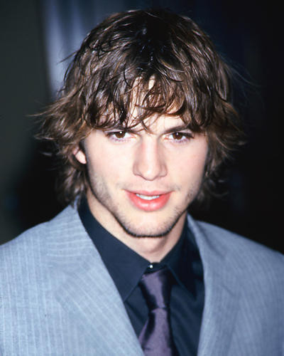 This is an image of 270054 Ashton Kutcher Photograph & Poster