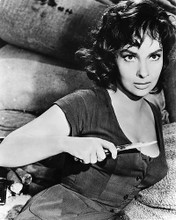This is an image of 186113 Gina Lollobrigida Photograph & Poster