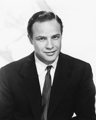 This is an image of 186155 Marlon Brando Photograph & Poster