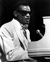 This is an image of 186578 Ray Charles Photograph & Poster