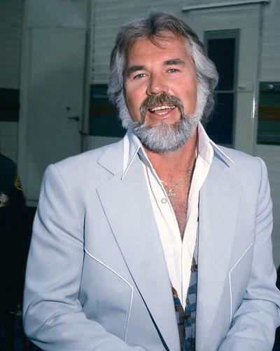 This is an image of 274462 Kenny Rogers Photograph & Poster
