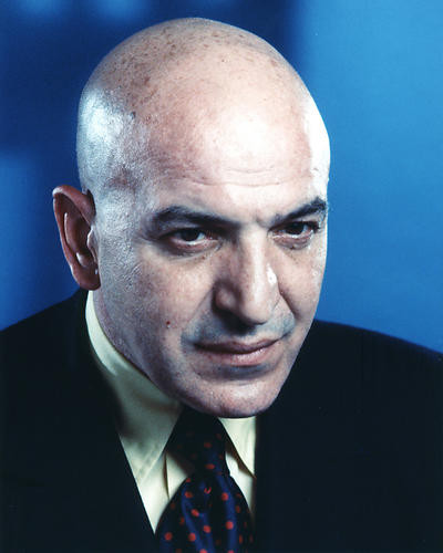 This is an image of 274663 Telly Savalas Photograph & Poster