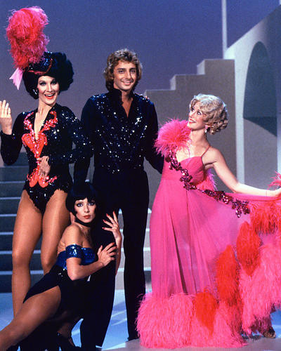 This is an image of 274915 Barry Manilow Photograph & Poster