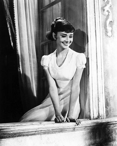 This is an image of 188523 Audrey Hepburn Photograph & Poster